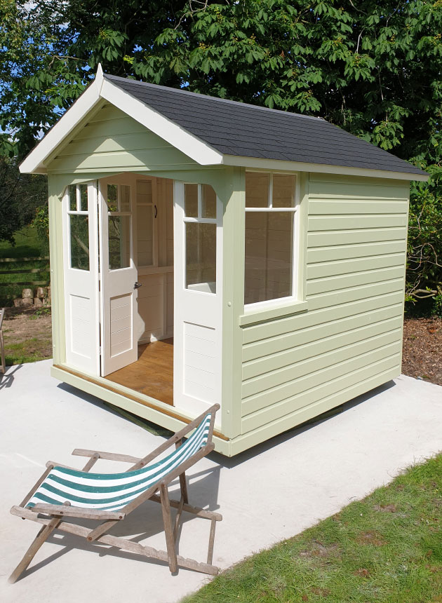 The Appleton Plus Summerhouse by The Revolving Summerhouse Company